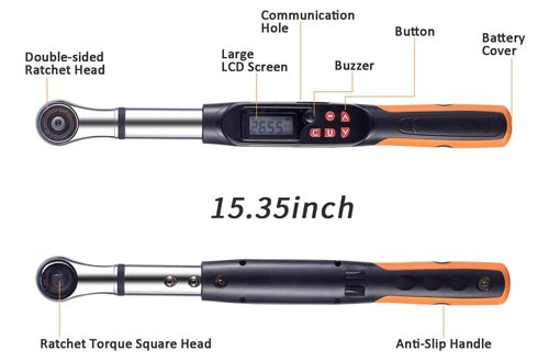 1. SOLUDE Adjustable Torque Wrench