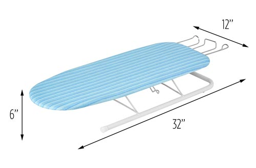 10. Honey-Can-Do Tabletop Ironing Board