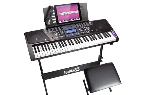 10. RockJam Electronic Keyboard Digital Pianos