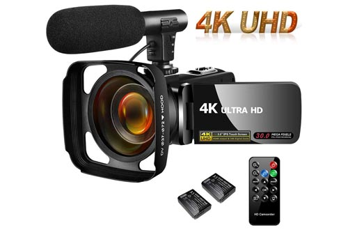 Top 10 Best 4k Camcorders Video Camera Recorders Reviews And Buying Guide In 2020
