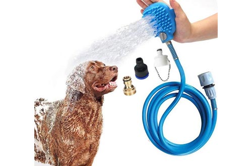 2. Pet Shower Sprayer by HengLiSam