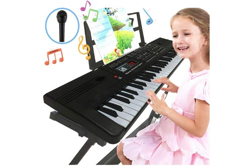 2. Semart electric digital music keyboard