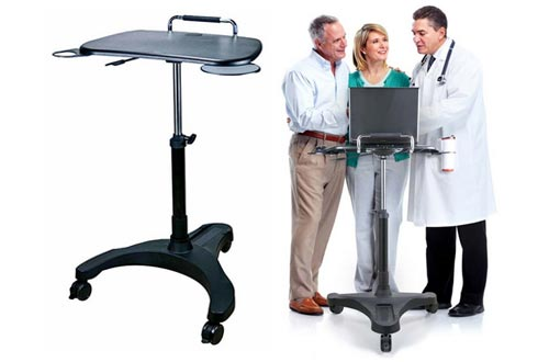 3. Aidata Laptop Table Desk Cart