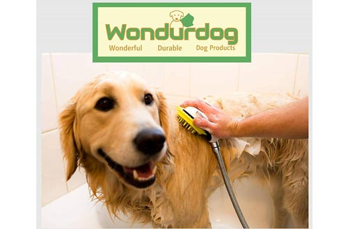 3. Wondurdog Dog Shower Sprayers Kit