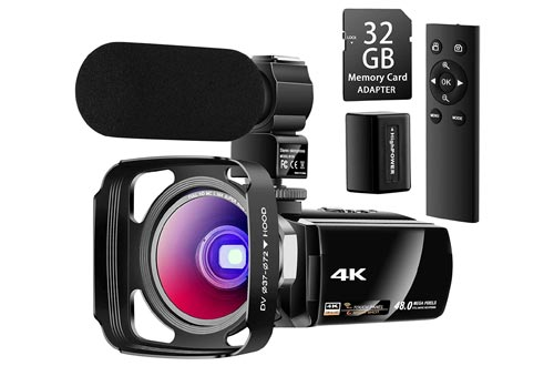 4. Besungo Ultra HD Camcorder