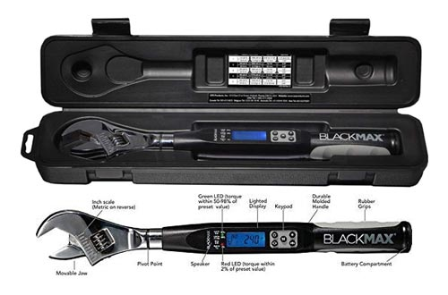 4. CPS Adjustable Electronic Torque Wrench