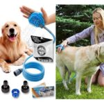 4. Wantedstuff Pet Shower Kit