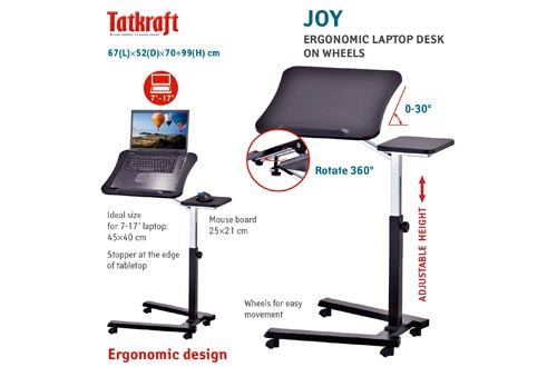5. Tatkraft Joy Portable Laptop Desk