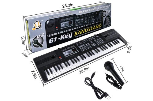 6. Digital Music Piano Keyboard by Tencoz