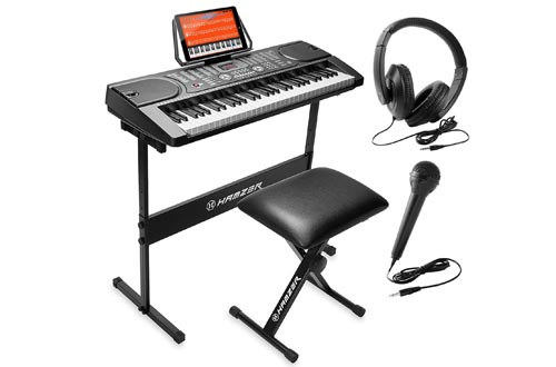 7. Hamzer Portable Electronic Keyboard Piano