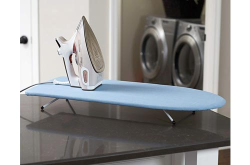 7. Household Essentials Table Top Ironing Board