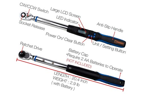 7. Summit Tools Digital Torque Wrench