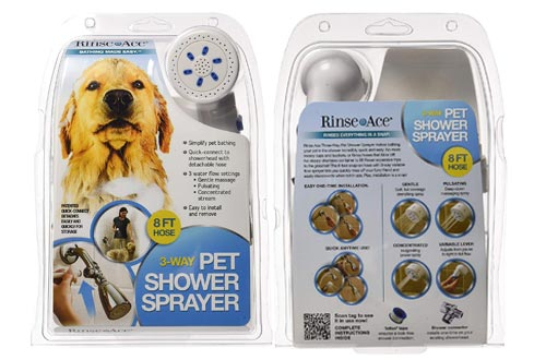 8. Rinse Ace Pet Shower Sprayer