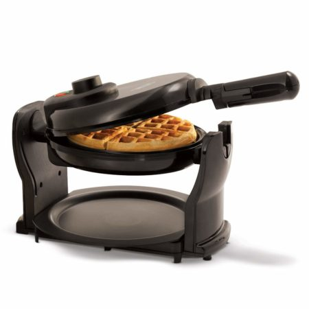 BELLA (13591) Classic Rotating Non-Stick Belgian Waffle Machine