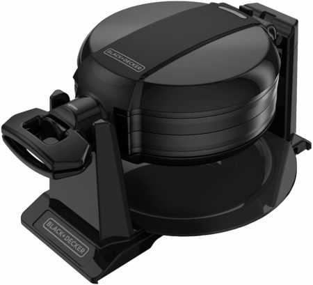 BLACK+DECKER Rotating Waffle Machine