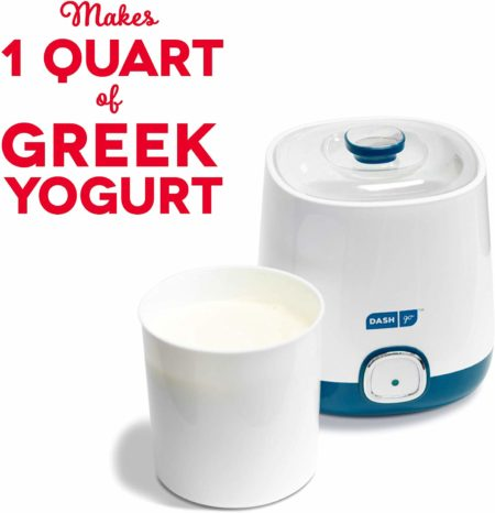 Dash Bulk Yogurt Maker Machine with One Touch Display