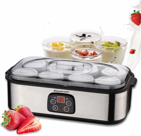 Homeleader Yogurt Maker, Automatic Digital Yogurt Maker