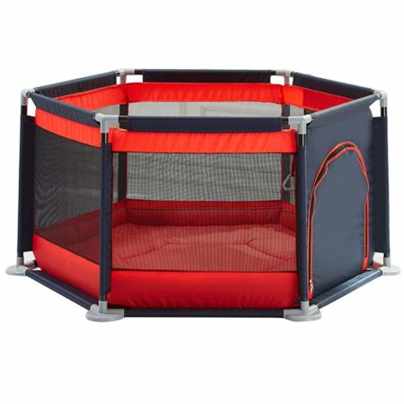Olpchee Portable Assembled Indoor Baby Infant Playpen