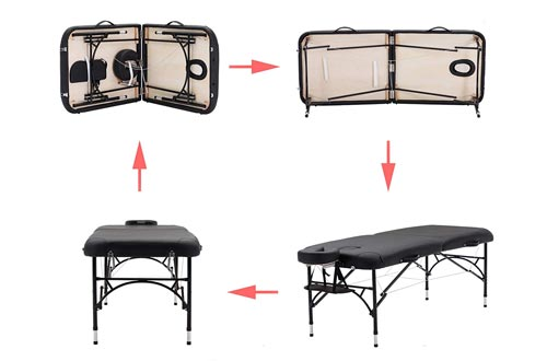 1. Artechworks Folding Portable Massage Table