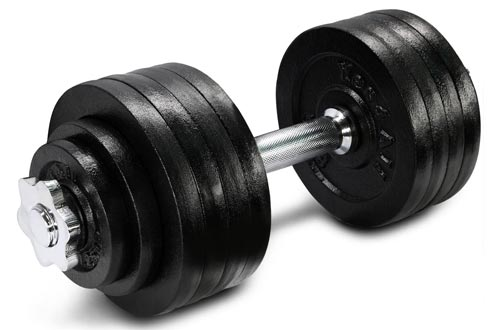 1. Yes4All Adjustable Dumbbells with Connector Options