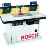 10. Bosch Cabinet Style Router Table - Adjustable Featherboards - Hardware for Mounting Routers