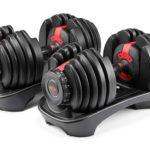 10. Bowflex SelectTech Adjustable Weights - adjustable dumbbells