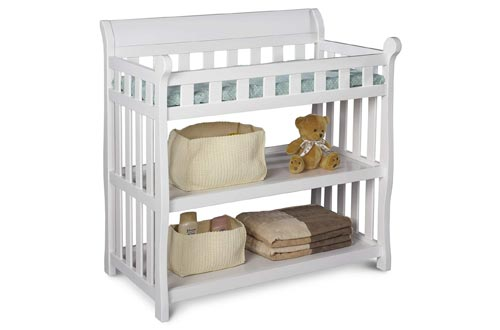 10. Delta Children Eclipse Changing Table - Changing Pad, Storage