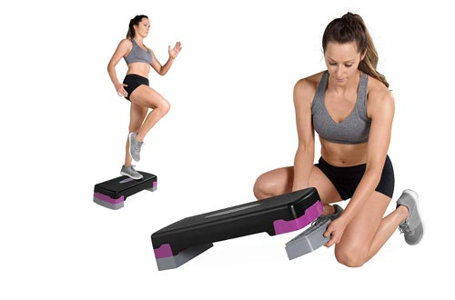 10. Tone Fitness Aerobic Step - Color | Exercise Step Platform