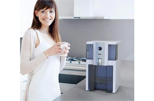 2. AlcaPure Countertop Water Filter 4 Stage Technology - Alkaline pH by RKIN