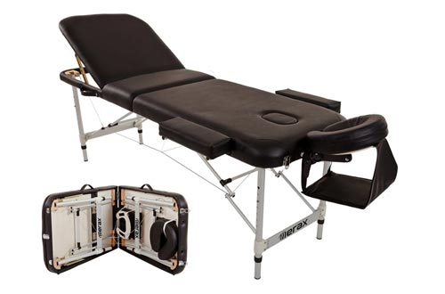 2. Merax Aluminium Portable Folding Massage Table