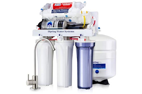 3. iSpring Drinking Filtration System - Ultimate Water Softener RCC7P-AK