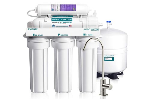 4. APEC Top-Tier Water Filter System - 75 GPD 6-Stage Ultra Safe ROES-PH75