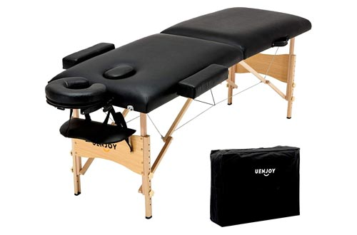 7. Uenjoy Folding Massage Table