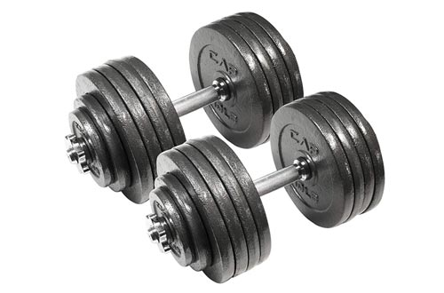 8. CAP Barbell Adjustable Dumbbell Set - 40 to 200 Pounds