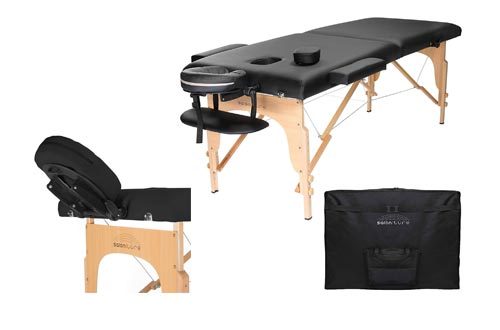 8. Saloniture Professional Folding Massage Table