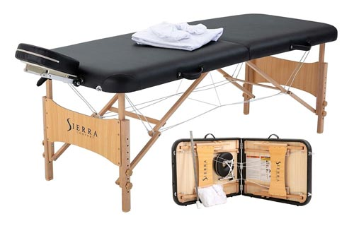 9. Sierra Comfort Portable Massage Table