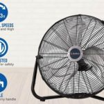 "Lasko 20"" High-Velocity QuickMount Floor Fans"