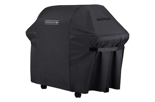 1. Wenscha BBQ Grill Cover, Heavy Duty Premium Gas Grill Cover, Fully Waterproof