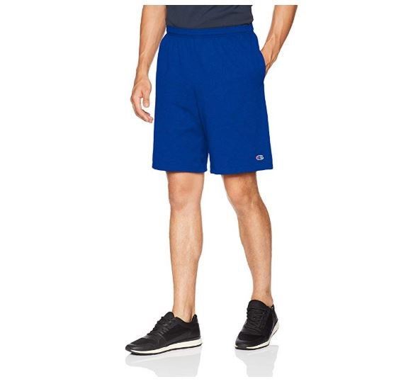 1.Champion Men's Jersey Short With Pockets