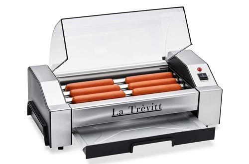 2. La Trevitt - Sausage Grill Cooker Machine- 6 Capacity - Great for Camping and Hiking Trips Machine for Family Use