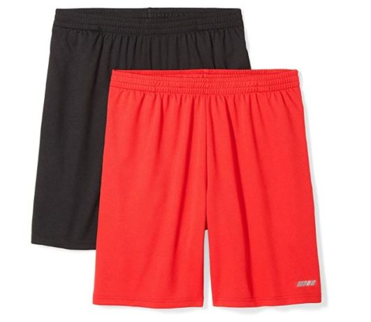 2.Amazon Essentials Men's 2-Pack Loose-Fit Performance Shorts