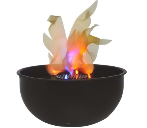 2.Fortune Products FLM-200 Cauldron Flame Light, 9.75 Bowl Diameter x 4.5 Height
