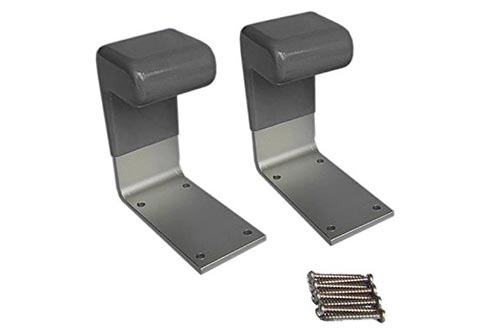 4. Clean Set of 2 with Accessories - Easy-to-Install, Sanitary & Made with Heavy-Duty Aluminum