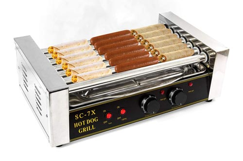 5. Biltek Grill Commercial 18 Maker Warmer Cooker Machine 7