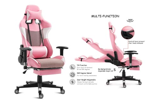 5. Giantex Gaming Chair Racing Style High Back Ergonomic Office Chair Executive Swivel Computer