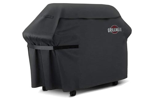 7. Grillman Premium 58 Inch BBQ Grill Cover, Heavy-Duty Gas Grill Cover for Weber