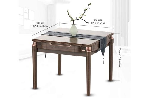 7. Mahjong Table Automatic Equipped with USB Charging, Cup Holders, Ashtrays, Storage Box, Cover