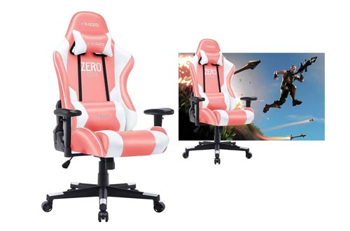 8. Musso Ergonomic, Pink Gaming Chair Adjustable Esports Gamer Chair, Adults Racing Video Game Chair