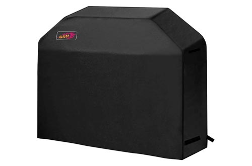 9. VicTsing Grill Cover, 58-Inch Waterproof BBQ Cover, 600D Heavy Duty Gas Grill Cover for weber