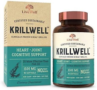 LiveWell Labs Nutrition Krill Oils